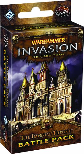 9781616611491: Warhammer Invasion Lcg: The Imperial Throne Battle Pack (Living Card Games)