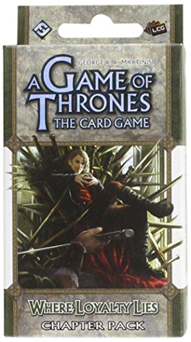 9781616611767: A Game of Thrones Lcg: Where Loyalty Lies Chapter Pack (Living Card Games)