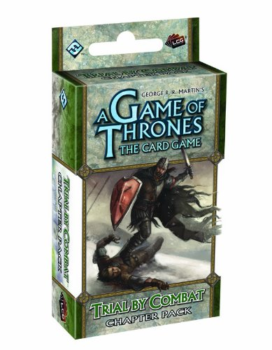 9781616611774: A Game of Thrones the Card Game: Trial by Combat Chapter Pack (Living Card Games)