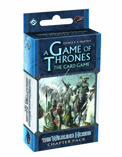 9781616612122: A Game of Thrones the Card Game: The Wildling Horde Chapter Pack Reprint (Living Card Games)