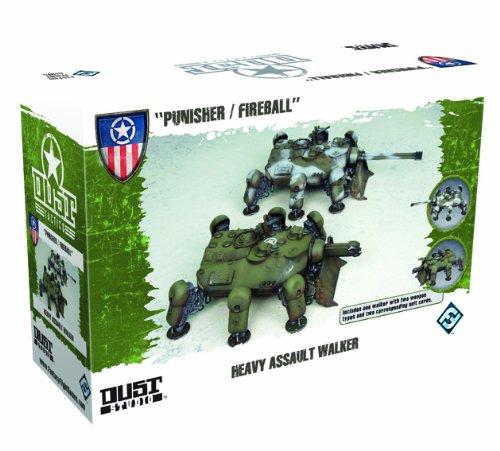 9781616612245: Dust Tactics Heavy Assault Walker: Punisher / Fireball