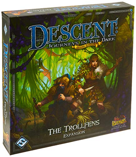 9781616617059: Descent 2nd Edition: The Trollfens Boars Game Expansion
