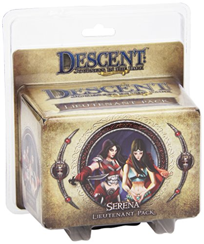 9781616618100: Descent 2nd Edition: Serena Lieutenant Pack-