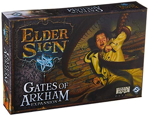 9781616619190: Elder Sign: Gates of Arkham Board Game Expansion