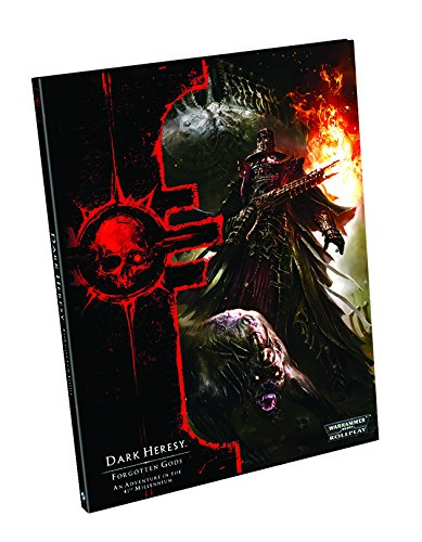 9781616619428: Dark Heresy RPG: Forgotten Gods Adventure (Warhammer 40,000 Roleplay)