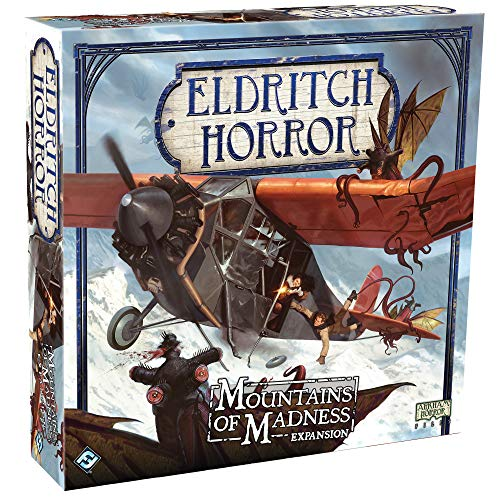 Eldritch Horror: Mountains of Madness Board Game Expansion (Toy)
