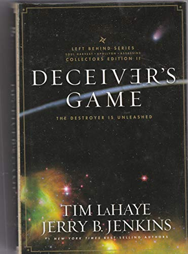 9781616642969: Deceiver's Game: The Destroyer Is Unleashed (Left Behind Series Collectors Edition Volume 2) (Hardcover)