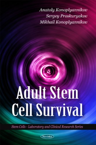 Adult Stem Cell Survival (Stem Cells -: Anatoly Konoplyannikov; Sergey