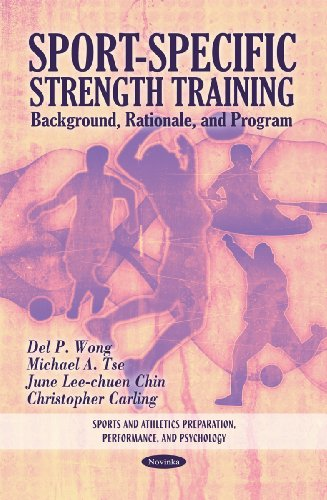 Sport-Specific Strength Training: Background, Rationale Program (Paperback): Del P. Wong, Michael A...
