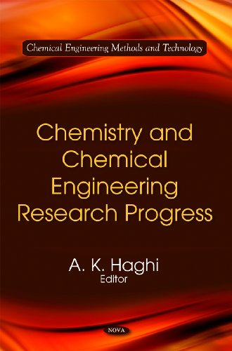 9781616685027: Chemistry and Chemical Engineering Research Progress (Chemical Engineering Methods and Technology)