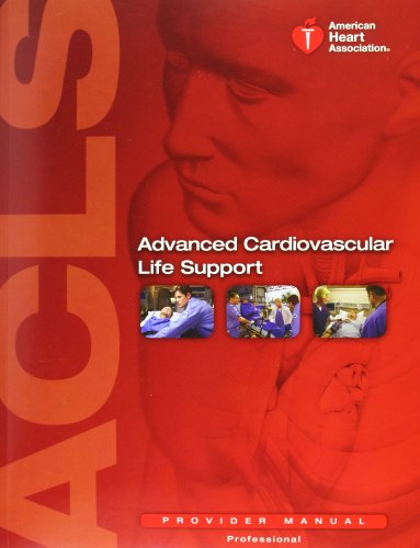 9781616690106: Advanced Cardiovascular Life Support: Provider Manual