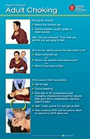 9781616690595: Heartsaver Adult Choking Poster