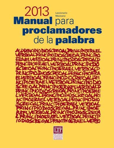 9781616710217: Manual para proclamadores de la palabra 2013 - USA (Spanish Edition)