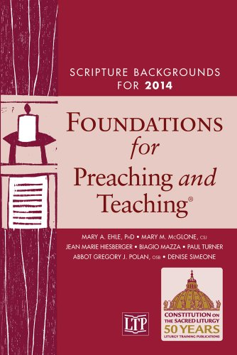 9781616710798: Foundations for Preaching and Teaching (TM): Scripture Backgrounds for 2014