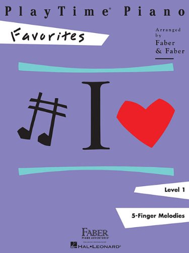 9781616770136: Playtime Piano Favorites: Level 1 5-finger Melodies