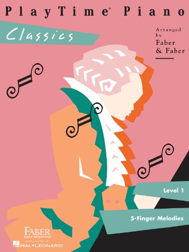 9781616770181: Playtime Piano Classics: Level 1: 5-finger Melodies