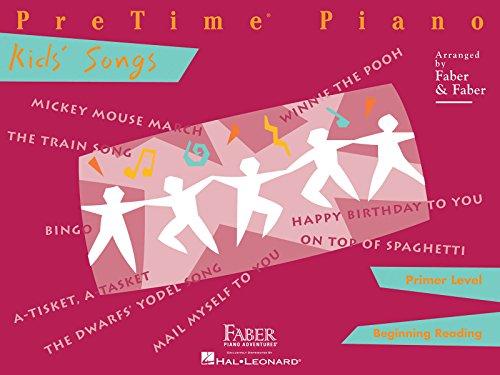 PreTime Piano Kids' Songs, Primer Level: Beginning Reading: Nancy & Randall Faber, Randall ...
