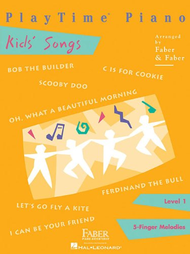 Playtime Piano Kids' Songs: Level 1: 5-