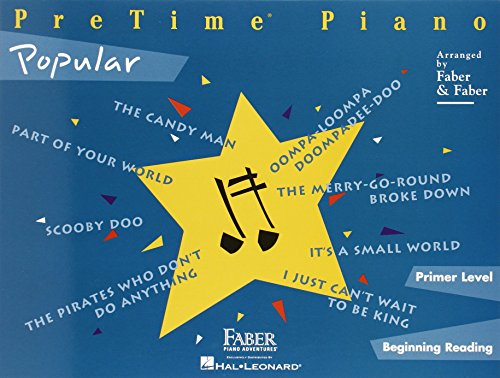 PreTime Popular: Primer Level (Pretime Piano Series) (1616770422) by Nancy Faber; Randall Faber