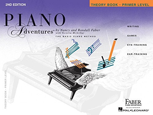 9781616770761: Primer Level - Theory Book: Piano Adventures