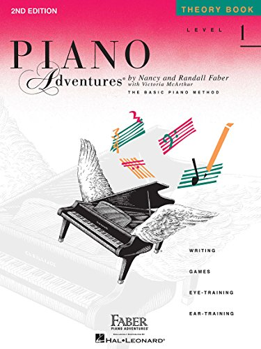 9781616770792: Level 1 - Theory Book: Piano Adventures