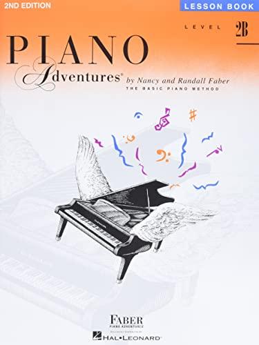 9781616770846: Level 2B - Lesson Book: Piano Adventures