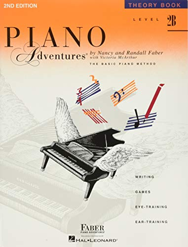 9781616770853: Level 2B - Theory Book: Piano Adventures