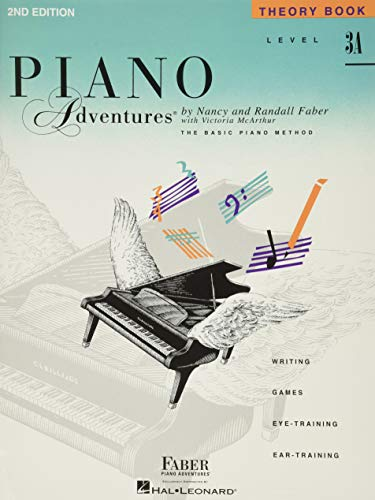 9781616770884: Level 3A - Theory Book: Piano Adventures