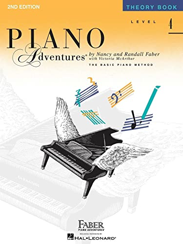 9781616770914: Level 4 - Theory Book: Piano Adventures