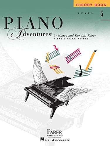 9781616770945: Piano Adventures Theory Book, Level 5 (Faber Piano Adventures)