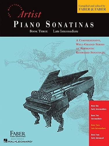 9781616771126: Piano Sonatinas - Book Three: Developing Artist Original Keyboard Classics (The Developing Artist)