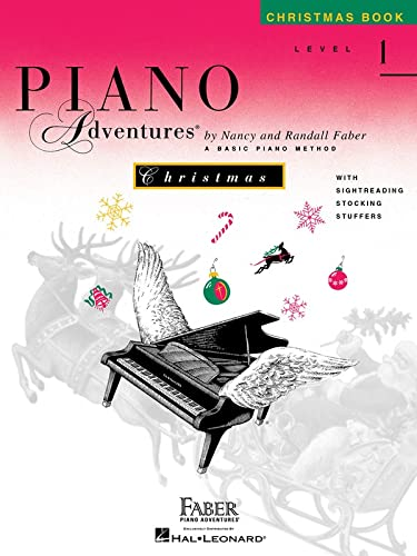 9781616771386: Piano Adventures Christmas Book Level 1