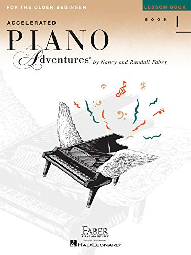 9781616772055: Accelerated Piano Adventures for the Older Beginner: Lesson Book 1