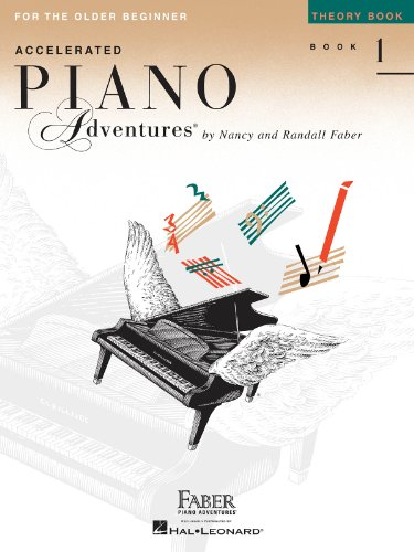 9781616772062: Accelerated Piano Adventures for the Older Beginner: Theory Book 1
