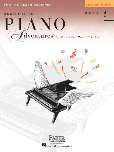 9781616772109: Accelerated Piano Adventures for the Older Beginner: Lesson Book 2