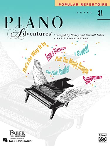 9781616772604: Level 3A - Popular Repertoire Book: Piano Adventures