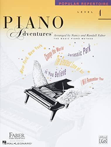 9781616773151: Level 4 - Popular Repertoire Book: Piano Adventures