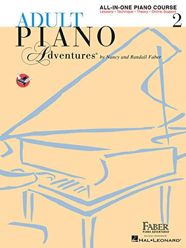 9781616773342: Adult Piano Adventures: All-in-One Lesson Book 2