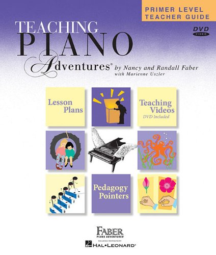 PRIMER LEVEL TEACHER GUIDE FABER PIANO ADVENTURES WITH 2 CDS