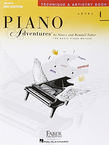9781616776367: Technique & Artistry Level 4 Faber Piano Adventures Second Edition