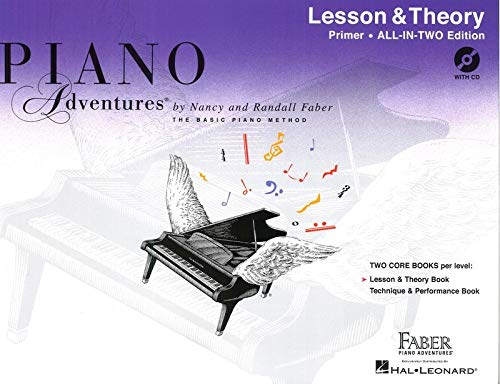 9781616776473: Piano Adventures: Lesson And Theory Book - Primer (Book/CD)
