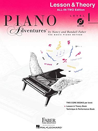 9781616776503: Piano Adventures: Lesson And Theory Book - Level 1 (Book/CD)