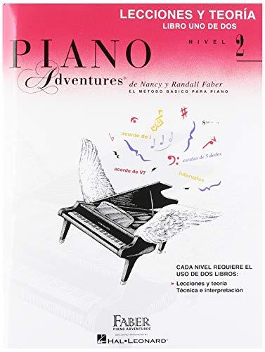 9781616776572: Lecciones y Teoria - Libro Uno de Dos Nivel 2: Spanish Edition Level 2 Lesson & Theory Book (Piano Adventures)