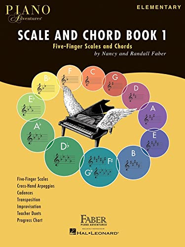 9781616776619: Faber Piano Adventures: Scale And Chord Book 1 - Five-Finger Scales And Chords