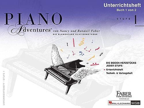 9781616776664: Piano Adventures: Unterrichtsheft 1