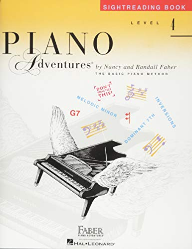 Level 4 - Sightreading Book: Piano Adventures: Faber, Nancy; Faber, Randall