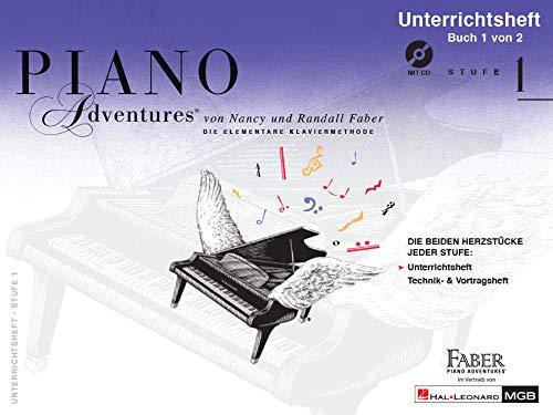 9781616776763: Piano Adventures Unterrichtsheft 1 Mit C