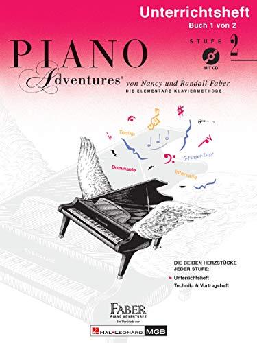 9781616776787: Piano Adventures Unterrichtsheft 2 Mit C
