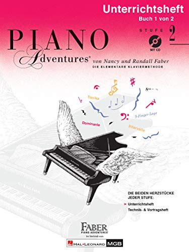 9781616776787: Piano Adventures: Unterrichtsheft 2 (mit CD) - Piano - BOOK+CD