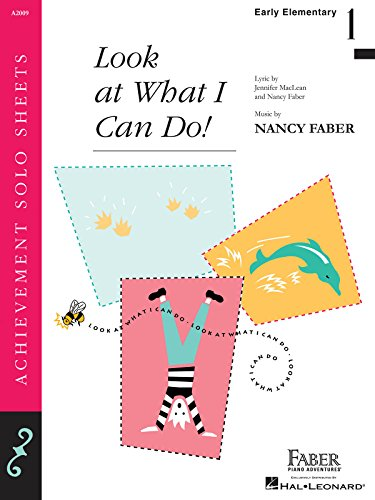Look What I Can Do! - Piano Solo (1616778083) by Nancy Faber